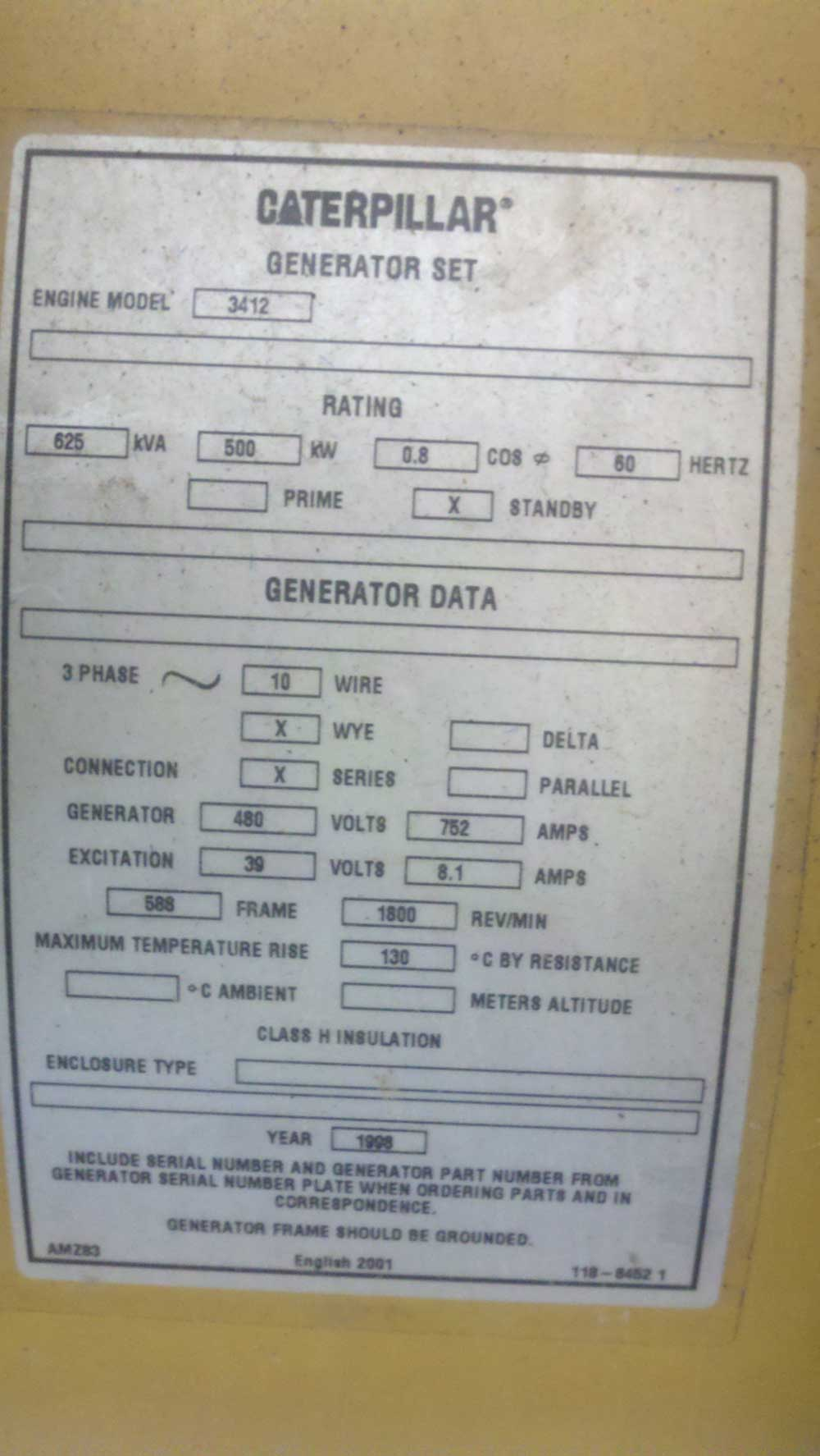 Generator Set/Ends